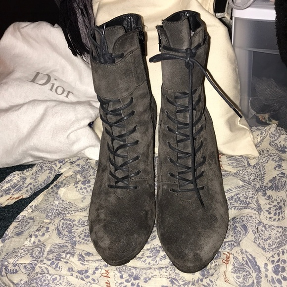 24ded96d5df6d Paul Green Shoes | Suede Lace Up Booties | Poshmark